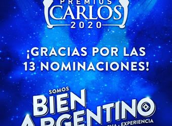 TRANSMISSION OF THE CARLOS AWARDS 2020